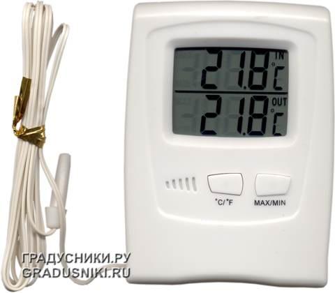 Термометры электронные с выносным датчиком своими руками